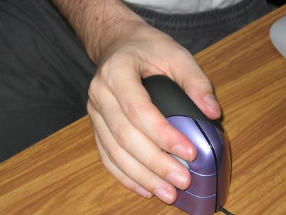 Shaking hands with the Evoluent VerticalMouse 2